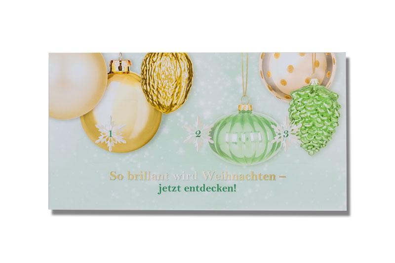 adventskalender surprisekarte